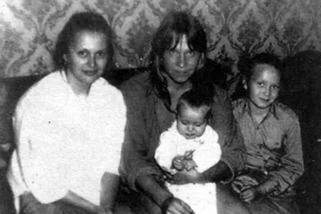 Семейство Кипеловых в 80-е годы