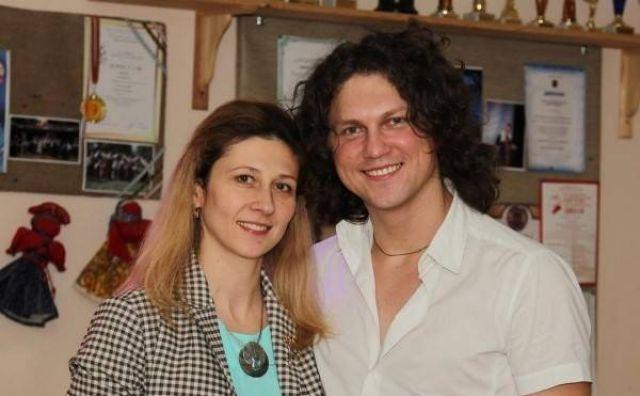Александр Бардин с женой