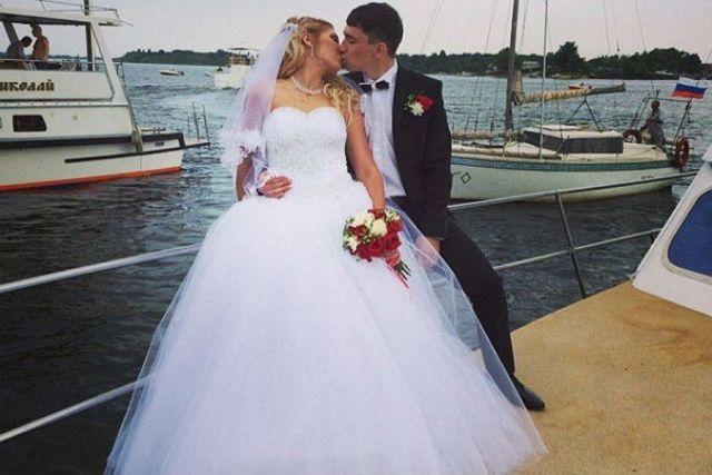 Александр Логинов с первой женой