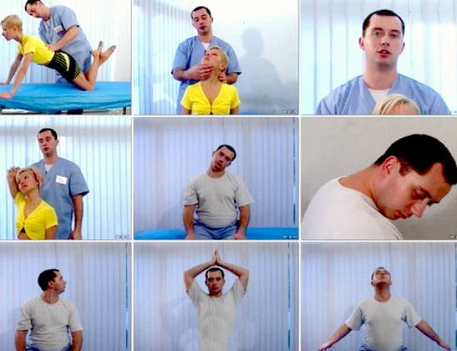 Упражнения доктора Шишонина