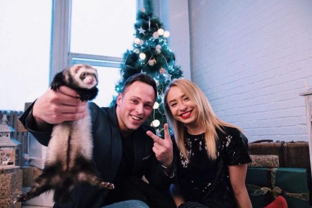 Алексей Столяров и Маша Соколова