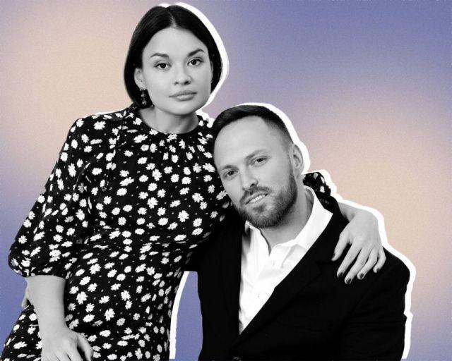 Алексей Столяров с женой