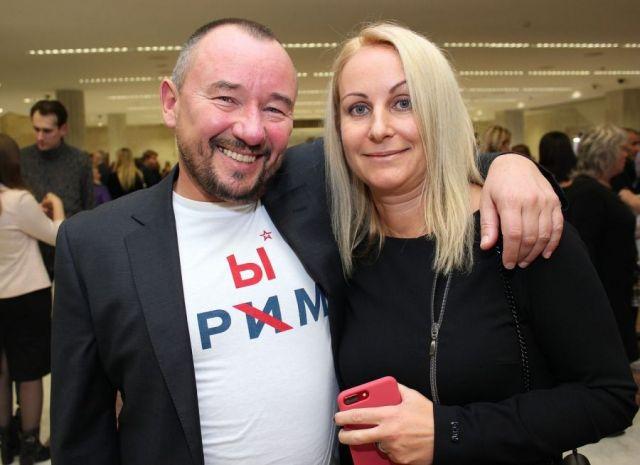 Артем Шейнин с женой