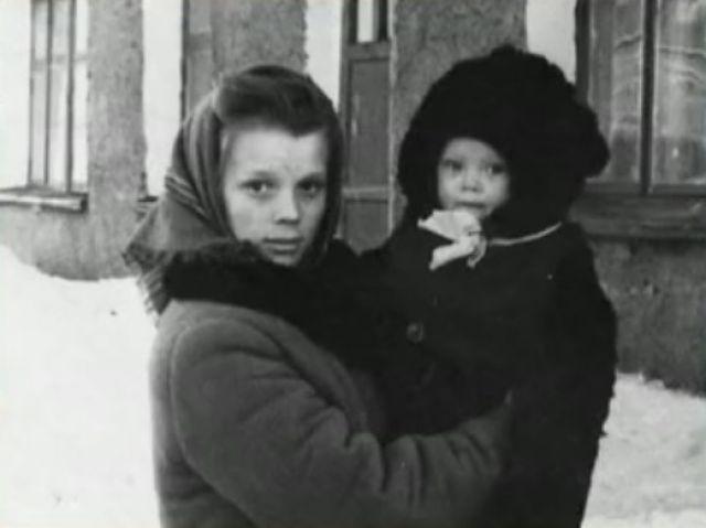 Галина Беляева с мамой