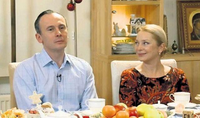 Галина Беляева с мужем
