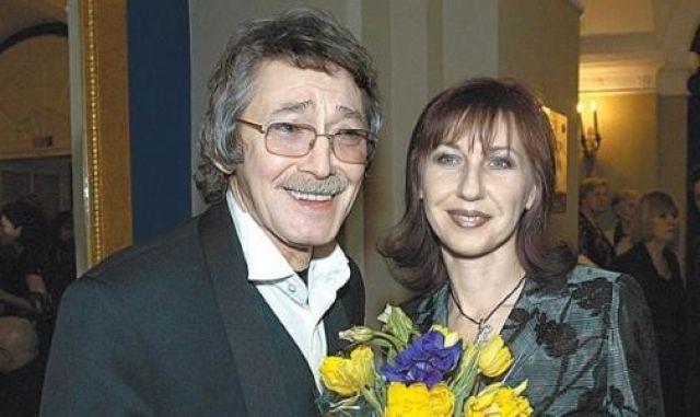 Игорь Старыгин с женой