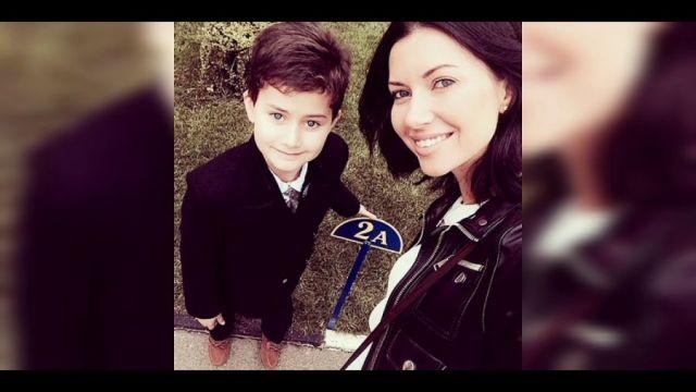 Мария Вебер с сыном