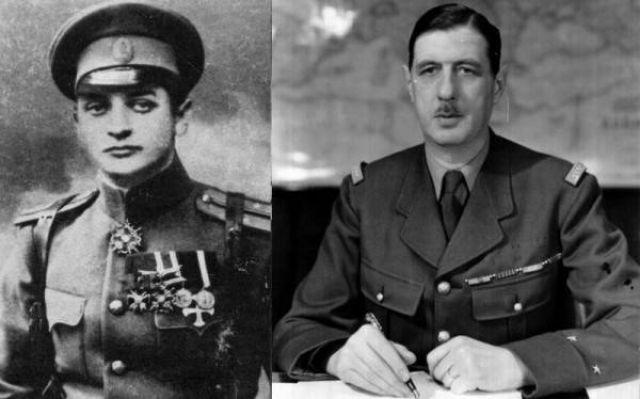 Тухачевский и Шарль де Голль