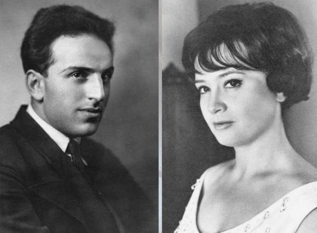 Владимир Аркадьевич Канделаки и Татьяна Шмыга