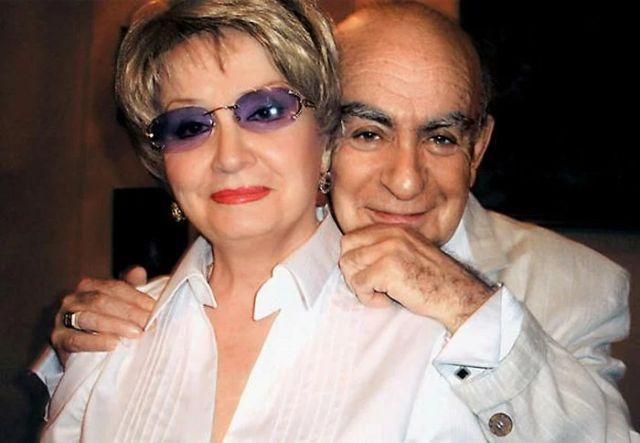 Татьяна Шмыга с мужем
