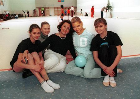 Ирина Винер с гимнастками