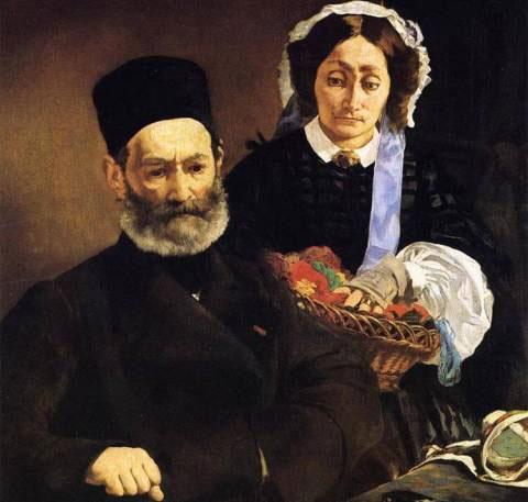 Портрет родителей