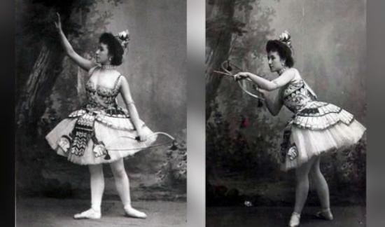 Матильда Кшесинская в балете «Дочь фараона»