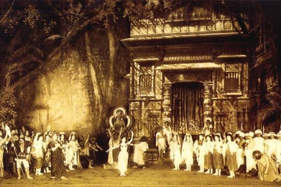 Матильда Кшесинская на сцене Мариинского театра