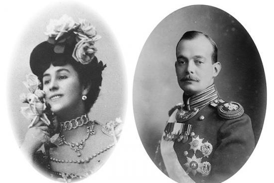 Матильда Кшесинская с мужем