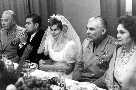 свадьба Терешковой