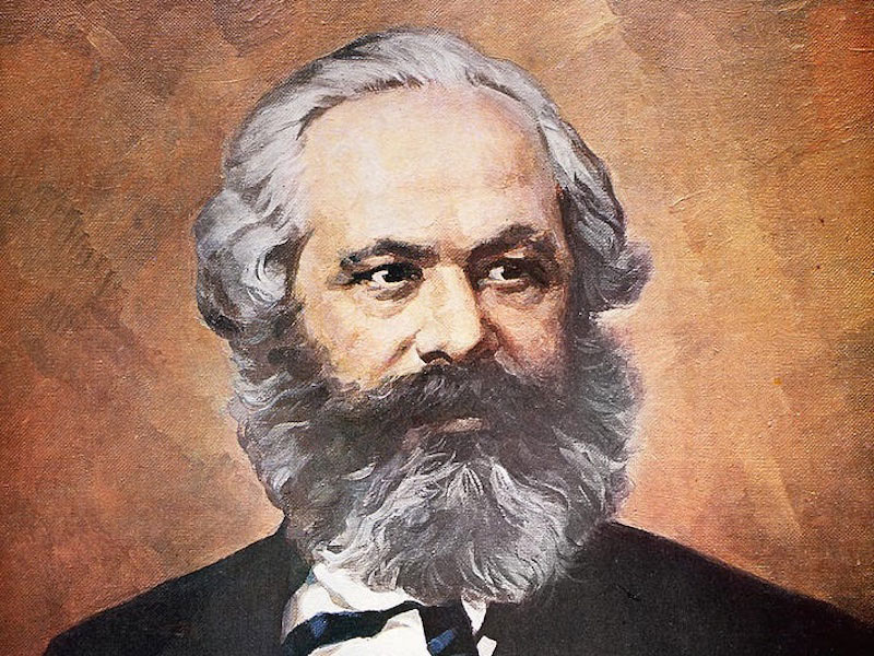 a biography of karl marx a communist philosopher